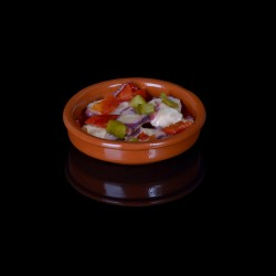 Salade de poulpe sauce vierge