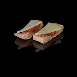2 Chorizo et queso manchego