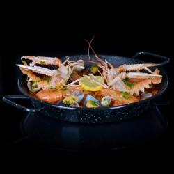 Paella Royale fruits de mer