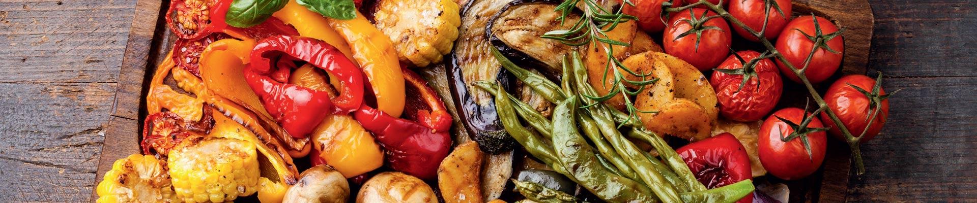 Légumes à la Plancha ou marinés